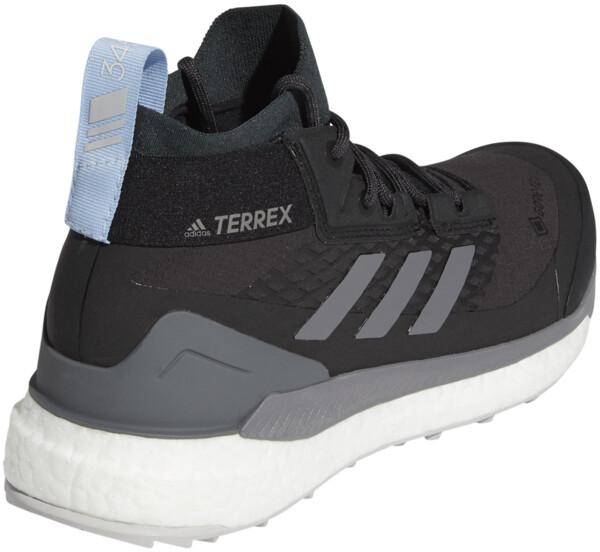 adidas TERREX Free Hiker Gore Tex Zapatillas de senderismo Mujer, carbongrey fourglow blue